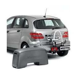 Pack Porte velo 2 velos pliable inclinable Siarr Westfalia Portilo 8570 + coffre Portilobox 8575