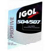 Igol 5W30 Profive 504/507 bidon de 4 litres